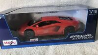 Lamborghini Aventador Coupe Red 1:18 Model Car Maisto Special Edition