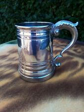 More details for pewter tankard half pint