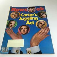 Newsweek Magazine: July 30 1979 - Carter's Juggling Act