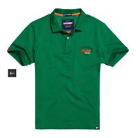 Superdry Mens Mercerised Lite City Fit Polo Shirt Sz L NWT