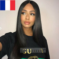 Lace Front Wig Brazilian Body Straight Wigs Baby Hair Pre Plucked Glueless