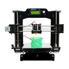 Full Acrylic Reprap Prusa I3 DIY Pro X stampante 3D with MK8 extruder LCD2004