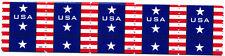 4385 Patriotic Banner 2009 MNH Gum Coil Strip of 5