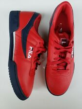 FILA ORIGINAL FITNESS TRAINER SPORTS SNEAKERS MEN SHOES RED/NAVY