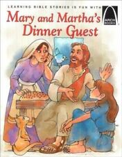 Mary and Martha's Dinner Guest - Arch Books-ExLibrary