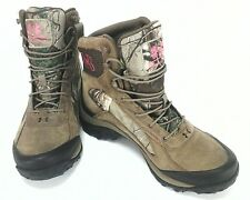 UNDER ARMOUR Womens UA Brown Hunting Hiking BOOTS Mossy Oak Camo US 10 E 42 NW0B