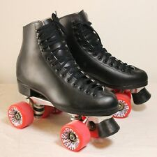 Roller Skates Riedell Sz 8 121 Boot | Sure Grip Super X 6 | Red Hyper Rollo 62