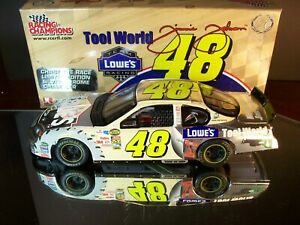 Jimmie Johnson #48 Lowes Tool World Chrome Chase 2004 Chevrolet Monte Carlo 1:24