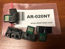 4pk - AR-020NT Toner Chip for Sharp AR-5516, AR-5520, AR-5516D, AR-5520D Refill