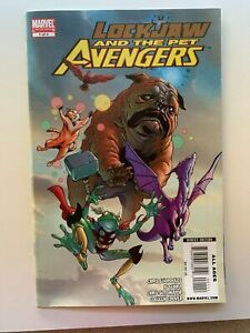 Lockjaw and the Pet Avengers #1 1st Throg Marvel Comics 2009 - Auction 1