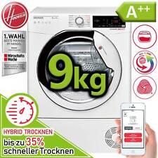 Wäschetrockner Trockner A++ Wärmepumpentrockner Hoover Candy 9 kg Hybrid NFC NEU