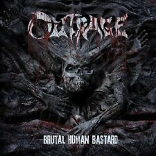 Outrage - Brutal Human Bastard (2013)  CD  NEW/SEALED  SPEEDYPOST