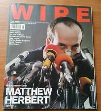 The Wire magazine 231 Matthew Herbert The Cramps Eddie Prevost Jaga Jazzist