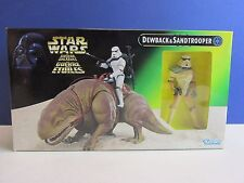 POTF star wars DEWBACK SANDTROOPER POWER OF THE FORCE action figure set Q98