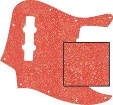 Pickguard Scratchplate Pick Guard Fender Jazz J Bass Guitar Textured Orange New