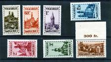 Saar Sc B37-43(Mi 161-7)*Vf Nh 1932 Semi Postal Set $1500
