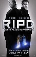 r.i.p.d RIPD Advance zweiseitig Original Film Film Plakat Ryan Reynolds