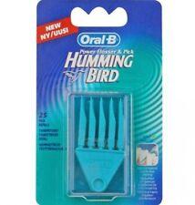 Oral-B Hummingbird 25 Pick Replacement Flosser Refills New