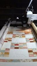 AEA Computerized Longarm Quilting Services - CRIB SIZE - Free Batting & Thread
