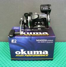Okuma Magda Pro MA 20DLX Left Hand Retrieve Line Counter Trolling Reel