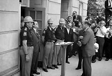 Gov. George Wallace Attempting to block Integration at Univ. of Alabama- 13x19