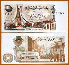 Algeria, 200 Dinars, 1983, Pick 135, UNC