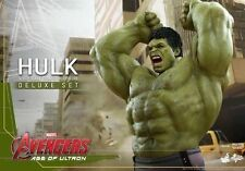 Hot Toys Avengers 2 Age of Ultron - Hulk Deluxe 1 6 Scale Figure Set