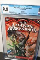 Dark Nights Death Metal Legends of the Dark Knights #1 2nd Print CGC 9.8