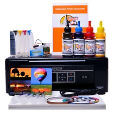 Non Oem Epson XP-352 A4 SUBLIMATION INK A4 Printer starter package - kits Bundle