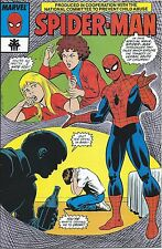 AMAZING SPIDERMAN 1 1993 RARE NCPCA GIVEAWAY PROMO CHILD ABUSE 2nd PRINT VARIANT
