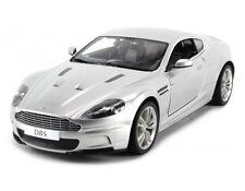 1:14 RC Aston Martin DBS Remote Control Model Car Silver RTR New