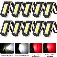 Magnet COB LED Taschenlampe Arbeitslampe Licht Leuchte Handlampe wiederaufladbar