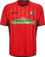 SC Freiburg SCF Heimtrikot 2018 2019 Home Trikot Herren rot schwarz