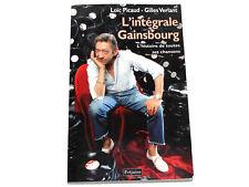 Loïc Picaud Gilles Verlant L'INTÉGRALE GAINSBOURG Serge Broché 2011 (VG)