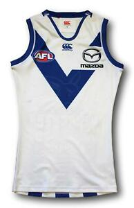 2018 North Melbourne Player Issue Away Heritage Football Jumper Guernsey Size M