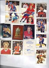 1983 Topps Hockey Sticker Set (329/330) and empty album NRMT Seldom Seen