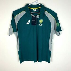 Cricket Australia Ashes Tour Asics Polo Shirt Size Men's XL NWT