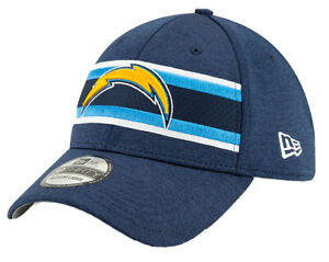 SAN DIEGO CHARGERS 39THIRTY FITTED HAT NEW ERA ON FIELD NFL FOOTBALL CAP