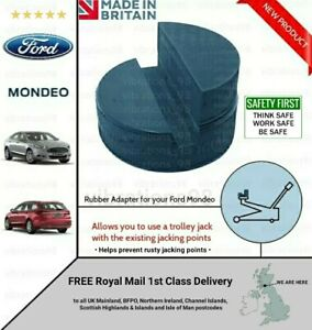 LARGE Rubber Adapter for your FORD Mondeo - Trolley Jack, Lifting Pad - UK MADE