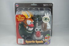 NFL Green Bay Packers Mr. Potato Head Authentic NFL Factory Sealed Sports Spuds