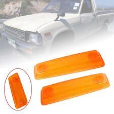 Side Marker Lamp Signal Light Lens Fit Toyota Hilux RN30 RN40 Pickup 1978-83