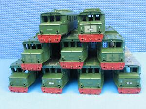 Trix Express Konvolut E 05 001 Gehäuse 9 Stück // AX 2181 -245