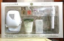 Simple SPA Manicure Station - Hand Lotion Nail Dryer, Manicure Tool & More......