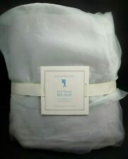 POTTERY BARN KIDS ICY Blue TULLE BED SKIRT QUEEN FROZEN #1360