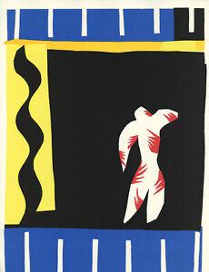 """Henri Matisse lithograph from Jazz """"Clown"""""""
