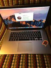 Apple MacBook Pro (Retina 15 pollici, Metà 2015) 2.2 GHz Intel Core i7 16 GB
