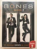 Bones saison 2 COFFRET DVD NEUF SOUS BLISTER