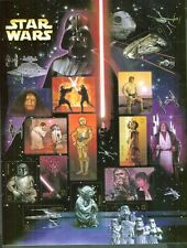 Star Wars Limited Edition USPS 2007 Stamp Sheet x 15 Stamps 30th Annivesary set