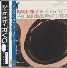Stanley Turrentine – Hustlin' BLUE NOTE RVG JAPAN MINI LP CD Kenny Burrell