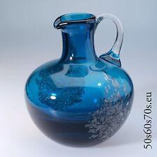 Vase Schott Zwiesel Design Heinrich Löffelhardt FLORIDA H=22 cm 70s #534